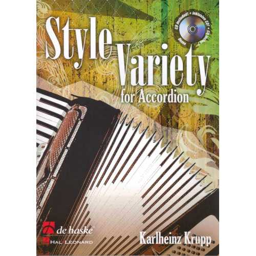 Style Variet for accordion (Karlheinz Krupp)