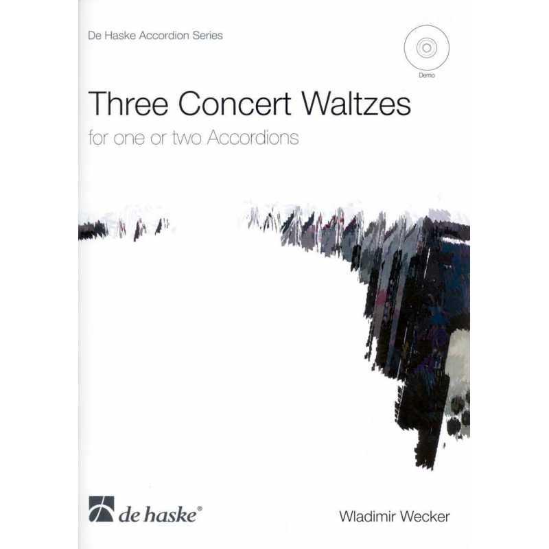 Three concert waltzes (Wladimir Wecker)