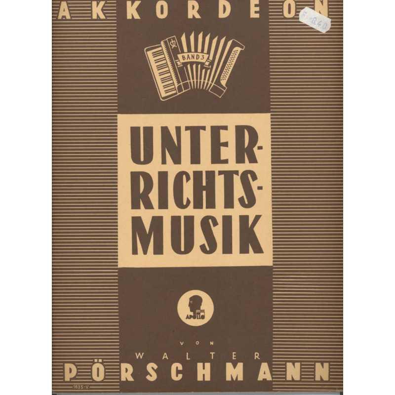 Unterrichtsmusik deel 3 (Walter Pörschmann)