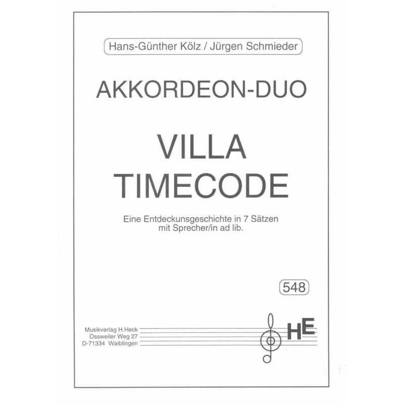 Villa Timecode (Hans-Güther Kölz/ Jurgen Schmieder)