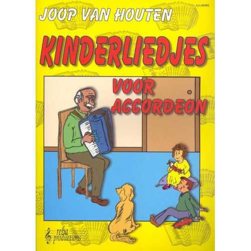 Kinderliedjes voor accordeon (Joop van Houten)