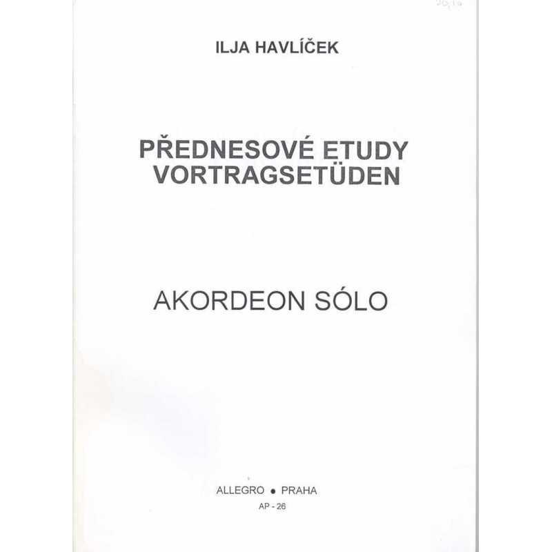 Vortrags etüden (Ilja Havlicek)