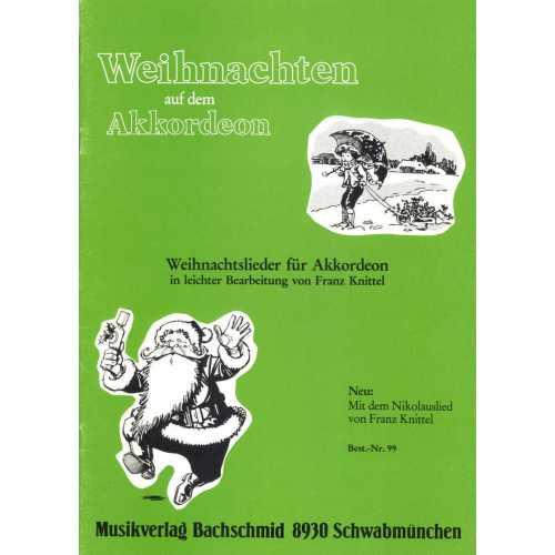 Weihnachten auf dem akkordeon (Franz Knittel)