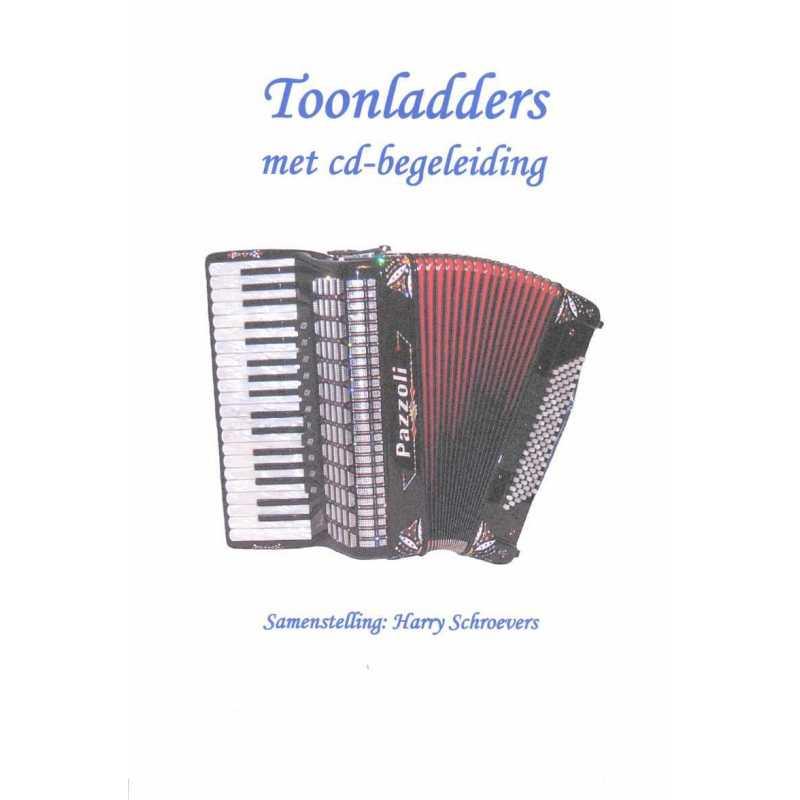 Toonladders incl cd (Harry Schroevers)