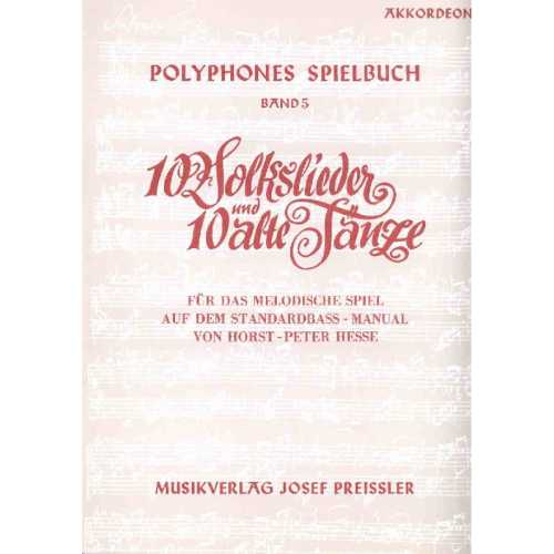 Polyphones Spielbuch deel 5 (Horst-Peter Hesse)