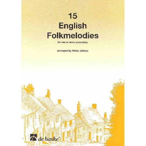 15 English Folkmelodies (Hotze Jelsma)