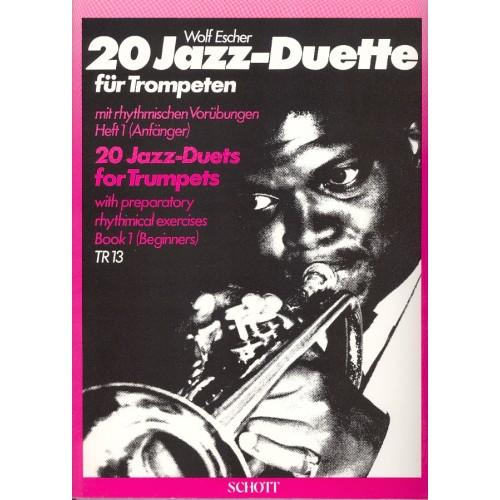 20 Jazz duette für trompeten