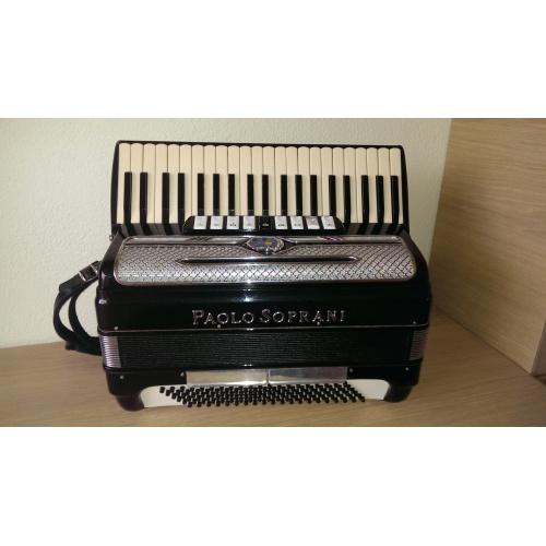 Paolo Soprani 120 bas musette-accordeon