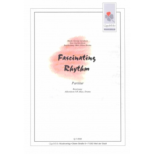 Fascinating Rhythm (George Gershwin) partituur