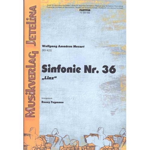 """Sinfonie Nr. 36 """"Linz"""" (Wolfgang Amadeus Mozart) stemmenset"""
