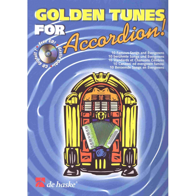 Golden tunes for Accordion! (incl. CD)