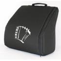 Draagtas voor 72 bas accordeon kleur zwart