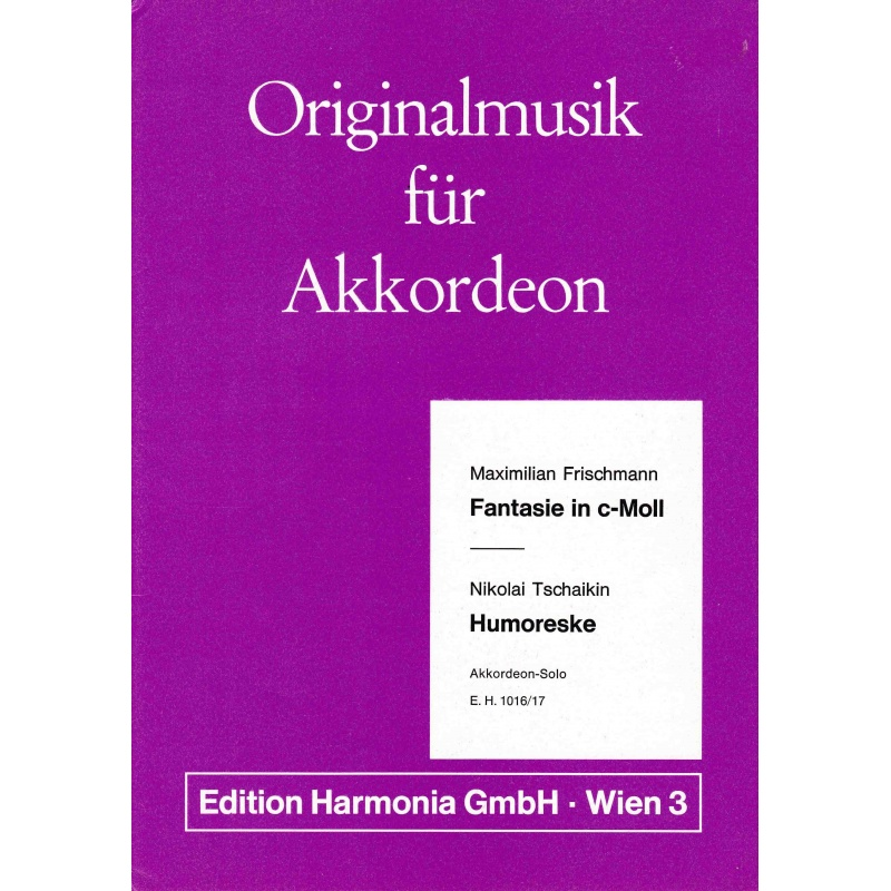 Originalmuzik für akkordeon