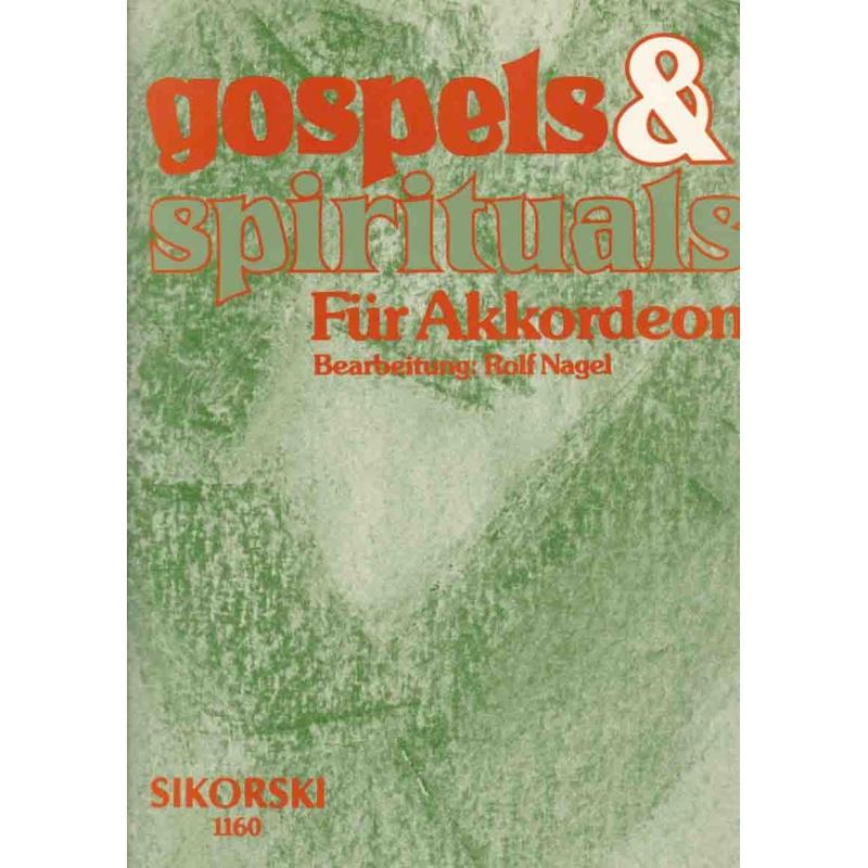 Gospels & Spiritual für akkordeon