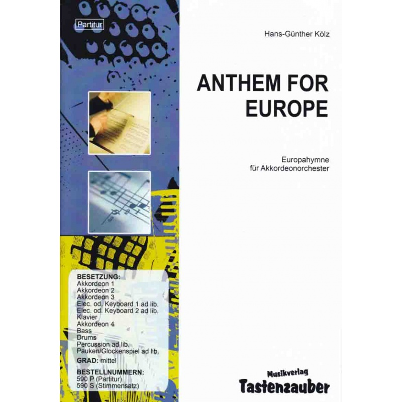 Anthem for Europe (stemmenset)