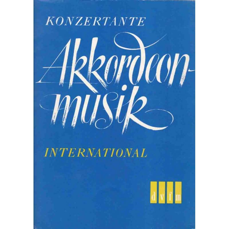 Konzertante akkordeon musik