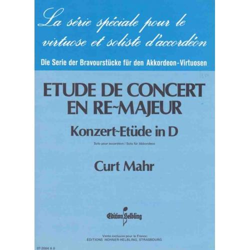 Konzert-etüde in D-dur