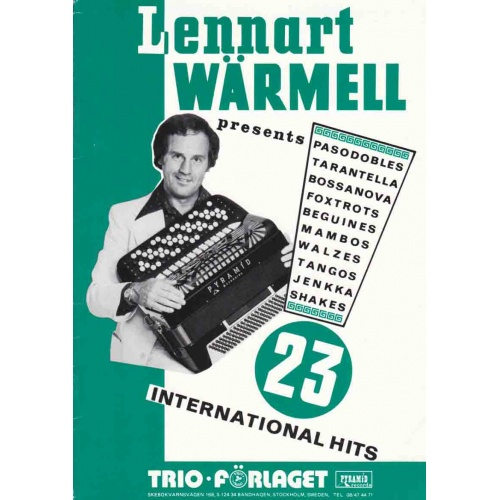 Lennart Wärmell hits
