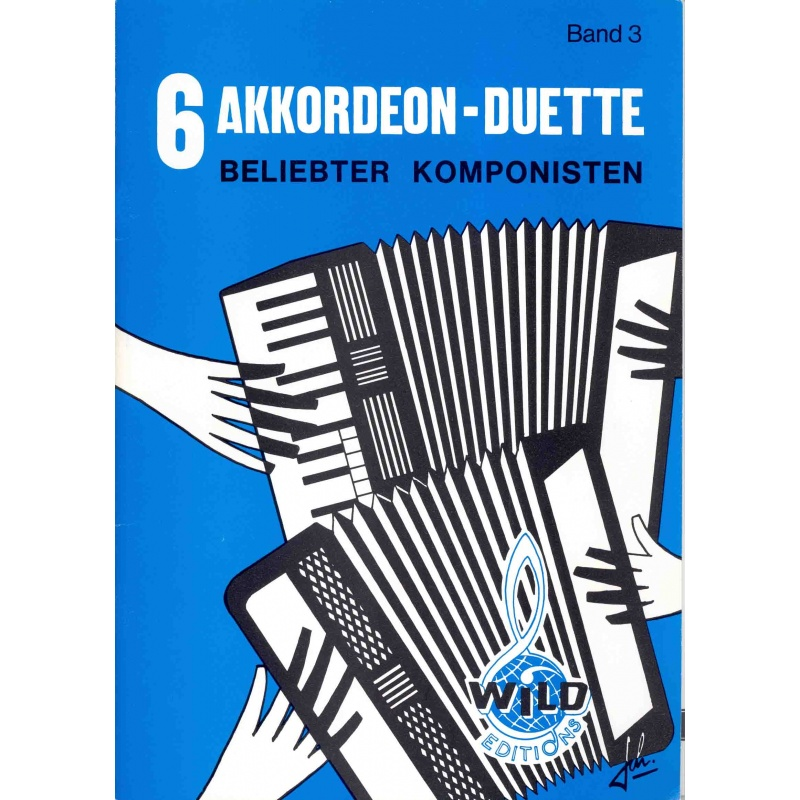 6 Akkorden duette belieblter komponisten deel 3