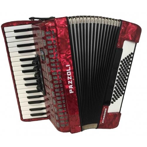 34/72/III/5+3 Pazzoli 72 bas accordeon. Duitse lijn