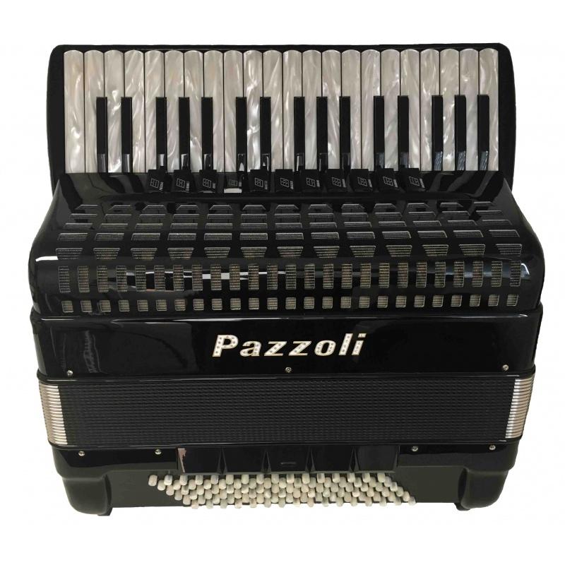 Pazzoli 96 bas Cassotto met Binci stemtongen Italiaanse lijn