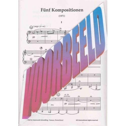 Fünf Kompositionen van Wladislaw Solotarjow