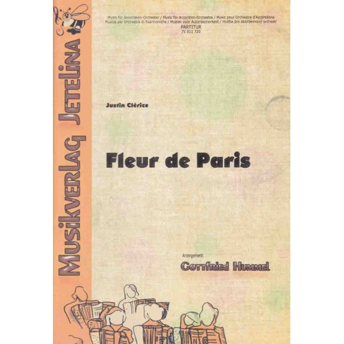 Fleur de Paris (stemmenset) Justin Clérice