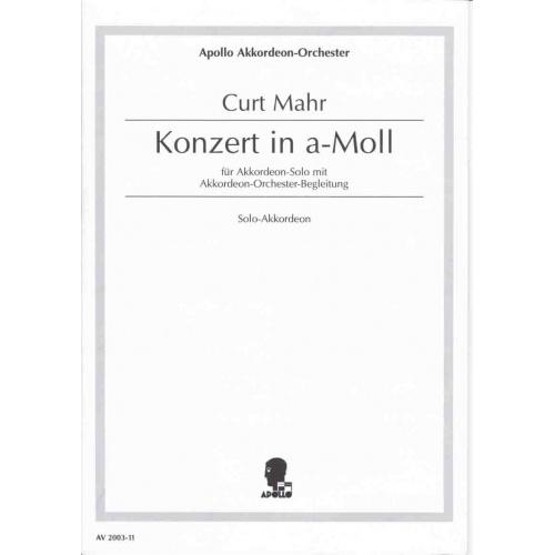 Konzert in a-moll van Curt Mahr (solostem)
