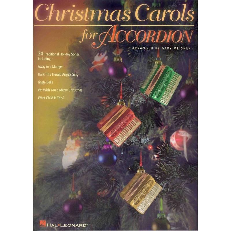 Christmas carols for accordion