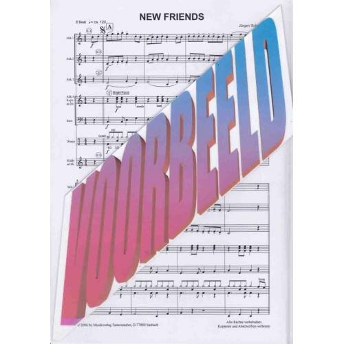 New Friends (partituur) Jürgen Schmieder