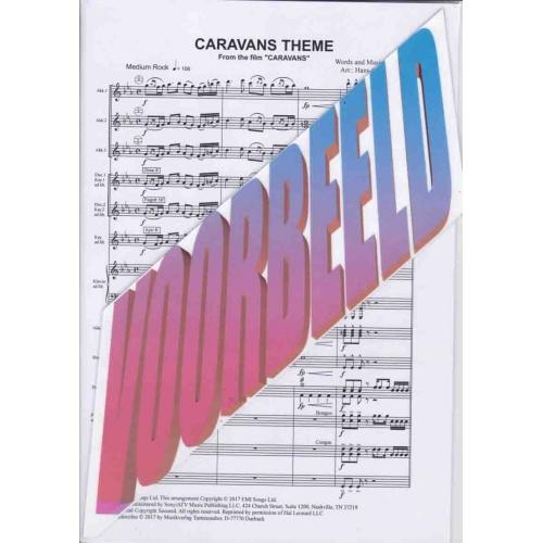 Caravans Theme (partituur) Mike Batt