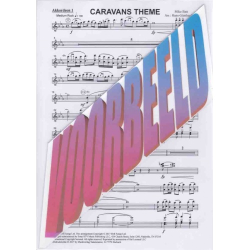 Caravans Theme (stemmenset) Mike Batt