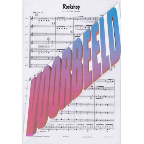 Rockshop (partituur) Jürgen Schmieder