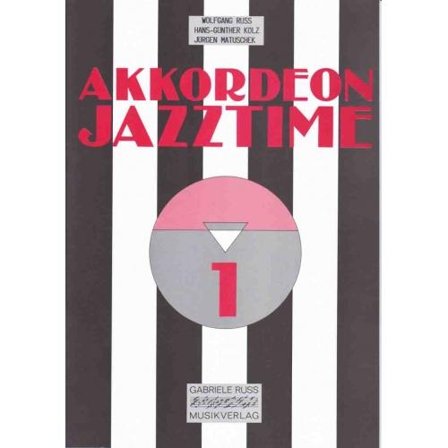 Akkordeon Jazztime deel 1 incl CD W. Russ/H-G Kölz