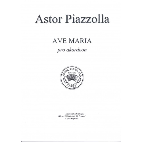 Ave Maria con Akordeon (Astor Piazzolla)