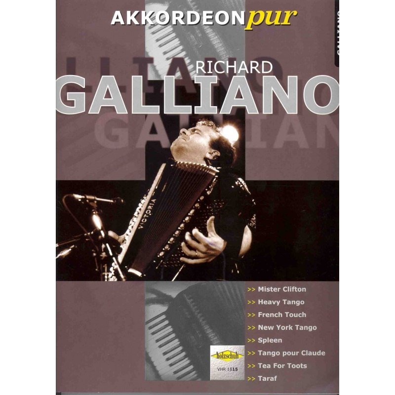 Akkordeon Pur Richard Galliano