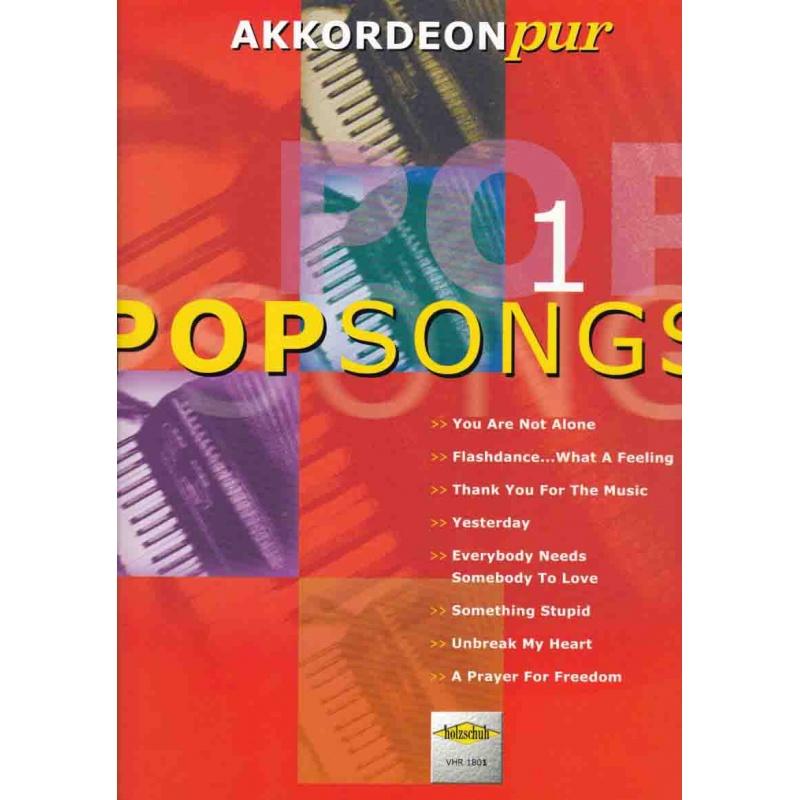 Akkordeon Pur Popsongs deel 1