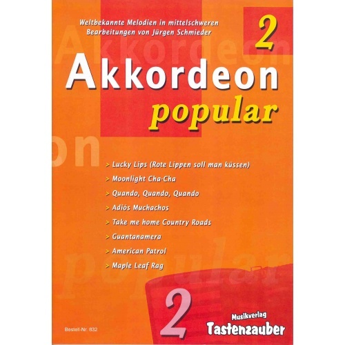 Akkordeon Popular deel 2