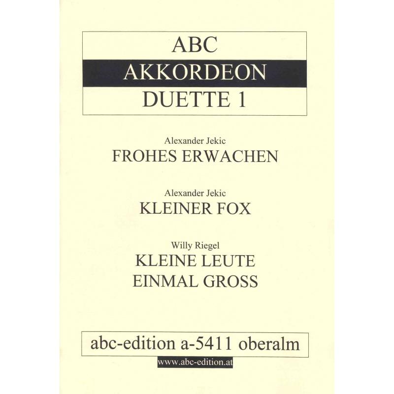 ABC accordeon duette deel 1