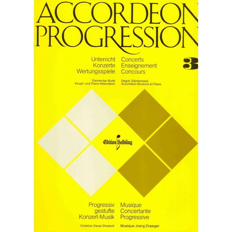 Accordeon Progression deel 3