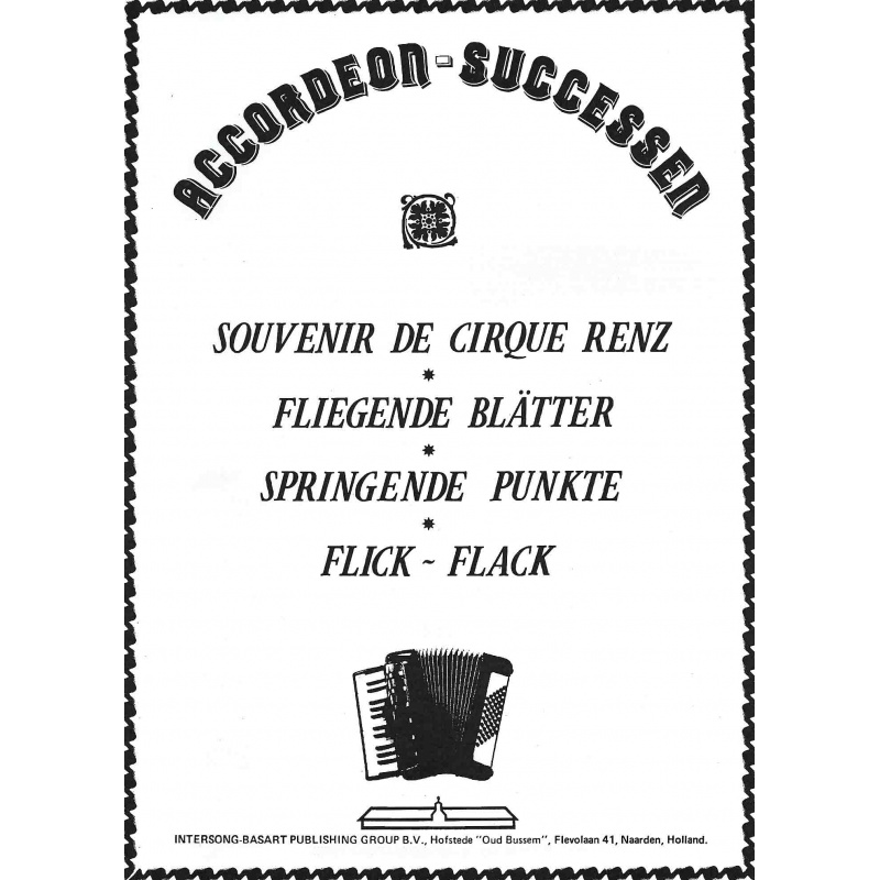 Accordeon-successen 1