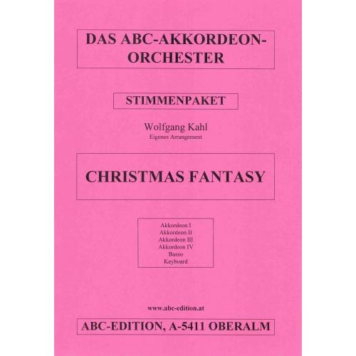 Christmas Fantasy (partituur)