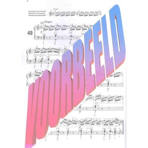 Czerny Etuden für Akkordeon deel 1 (Curt Mahr)
