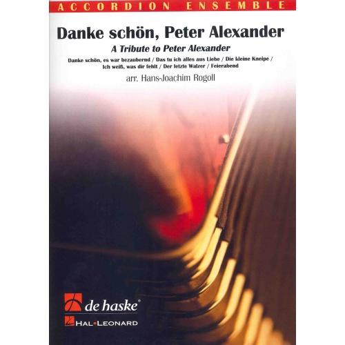 Danke schön, Peter Alexander (partituur en stemmenset)
