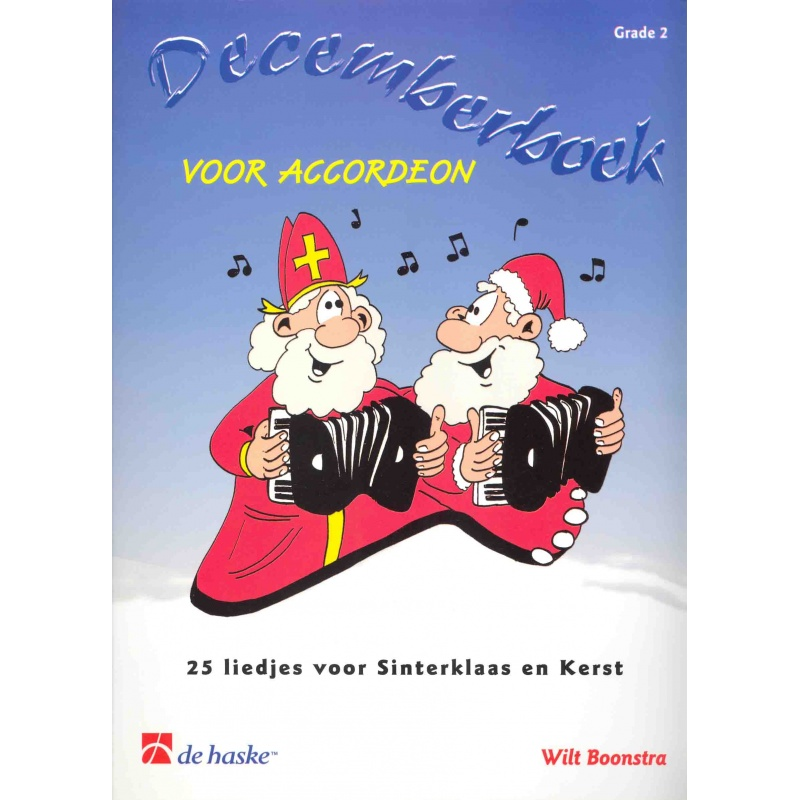 Decemberboek voor accordeon