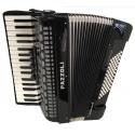 Pazzoli 72 bas accordeons 34/72/III/5+3 zwart Duitse lijn
