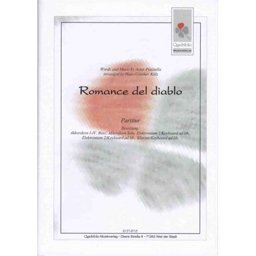 Romance del diablo (partituur) Piazzolla