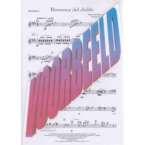 Romance del diablo (stemmenset) Piazzolla