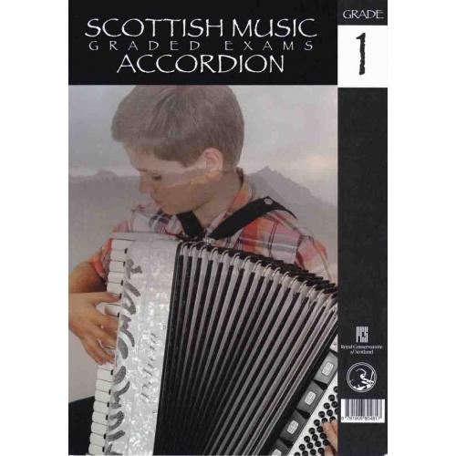 Scottisch Music Grade Exams Accordion Grade 1