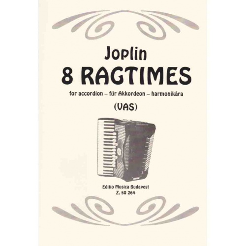 8 Ragtimes for Accordion (Scott Joplin)